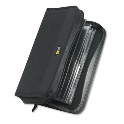 Case Logic CD/DVD Wallet, Holds 72 Disks