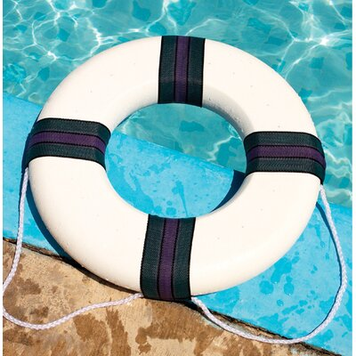 Swimline Foam Ring Buoy in White