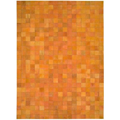 Barclay Butera Lifestyle Medley Tangerine Hairhide Rug