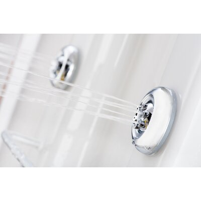 Aston Global Thermostatic Shower Panel with Six Body Jets