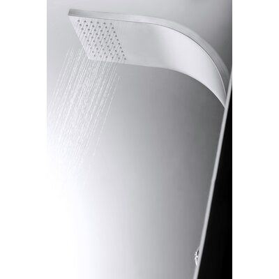 Aston Global Dual Function and Diveter Shower Panel with Six Body Jets