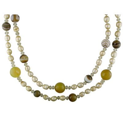 Smokey Quartz Beads Necklace