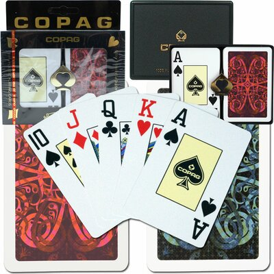 Copag Cards Bridge Size Jumbo Index Setup
