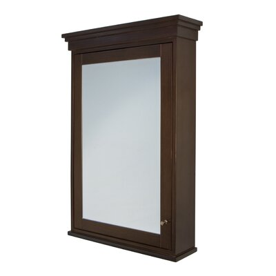 Torino Surface Mount Wood Framed Medicine Cabinet