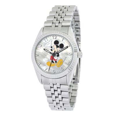 "Disney Mens ""Mickey Mouse"" Bracelet Watch"