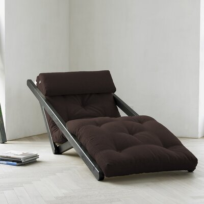 Fresh Futon Fresh Futon Figo with Wenge Frame in Chocolate