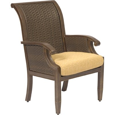 Woodard Del Cristo Dining Arm Chair with Cushion