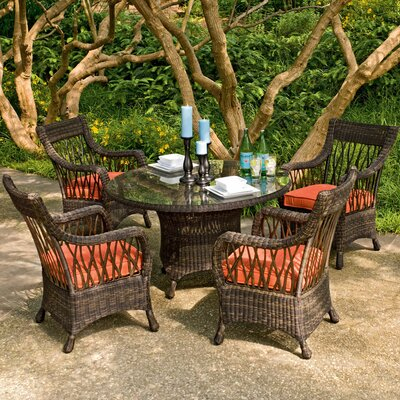 Woodard Serengeti 5 Piece Dining Set