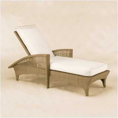 Woodard Trinidad Chaise Lounge with Cushion