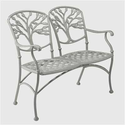 Woodard Heritage Metal Garden Bench