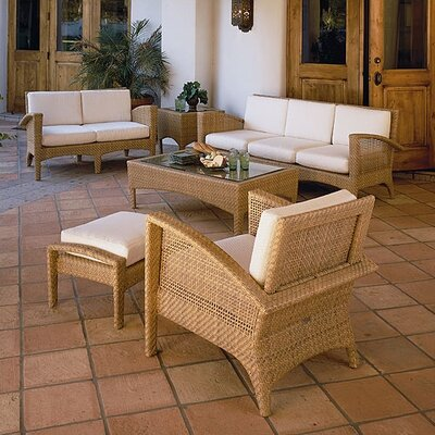 Woodard Trinidad Deep Seating Group with Cushions