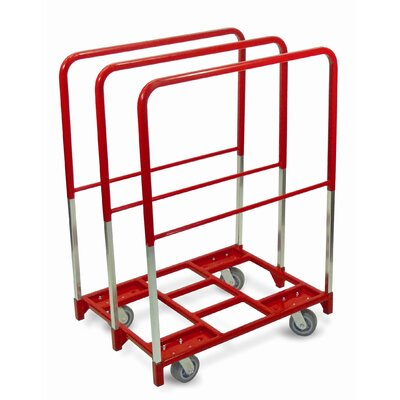 "Raymond Products Panel Mover 5"" Quiet Poly Casters, 2 Fixed and 2 Swivel, 3 Extra Tall Uprights"