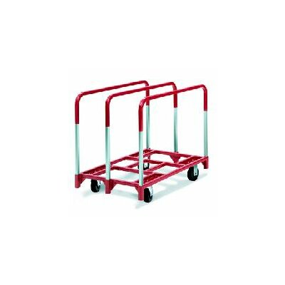 "Raymond Products Panel Mover 6"" Phenolic Casters, 2 Fixed and 2 Swivel, 3 Standard Uprights"