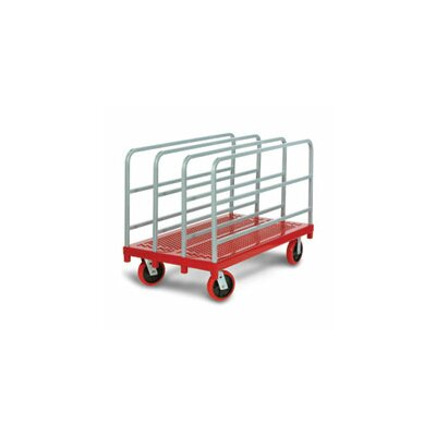 Raymond Products Heavy Duty Panel / Sheet Mover Quiet Poly Casters, All Swivel, 4 Uprights