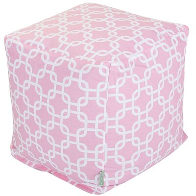 Majestic Home Products Cotton Cube Ottoman