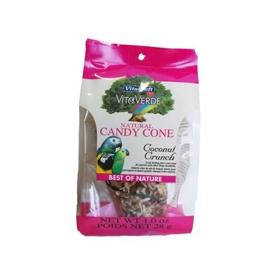 Vitakraft Coconut Natural Candy Cone Bird Treat