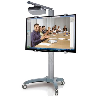 Cotytech Adjustable Ergonomic Mobile Projector Cart
