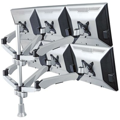 Cotytech Six Monitor Desk Mount Spring Arm (6) Quick Release