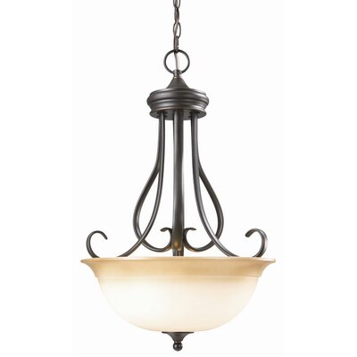 Design House Cameron 2 Light Inverted Pendant