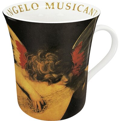 Konitz Art L'Angelo Musicante Di Rosso Mug (Set of 4)