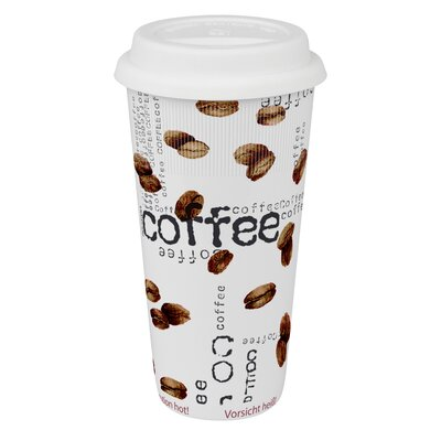 Large Travel Coffee Collage Mug (Set of 4)