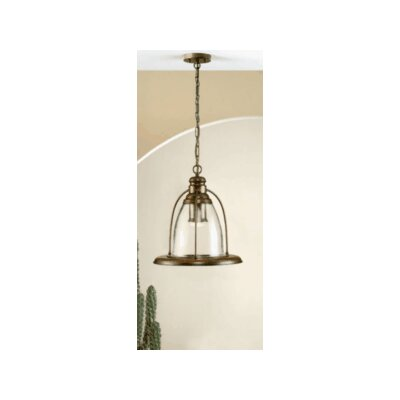 Lustrarte Lighting Rustik Sino 1 Light Mini Pendant