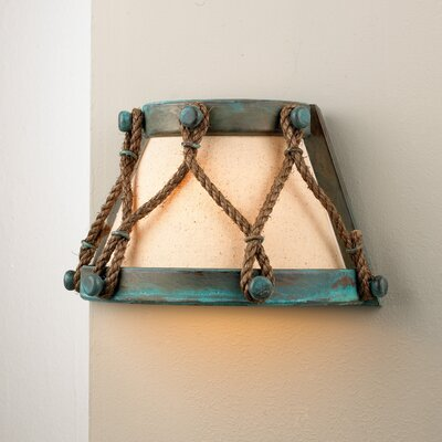 Lustrarte Lighting Rustik Tambor 1 Light Wall Sconce