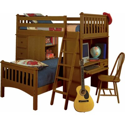Bolton Furniture Mission Sleep/Study/Storage Loft Bed