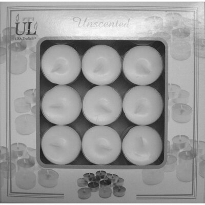 Light In the Dark Unscented Tealight Candles (Set of 50)