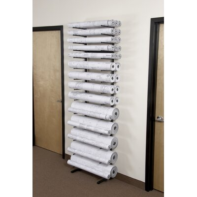 Brookside Design Vis-I-Rack with (5) 8&quot; Bins, (4) 6&quot; Bins and (4) 4&quot; Bins