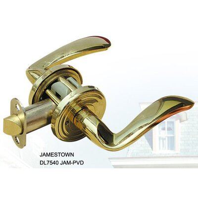 Double Hill USA Jamestown Decorative Privacy Lever