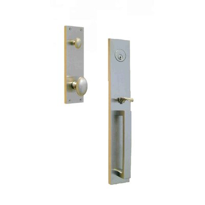 "Double Hill USA Manchester 2.38"" Keyed Entry Tubular Handle Set"