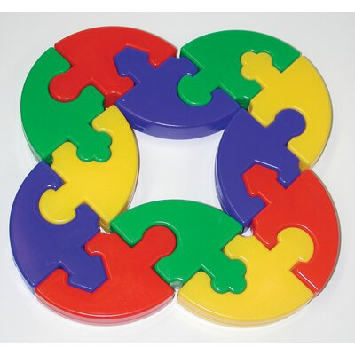 edushape Puzzle Pie Building Set