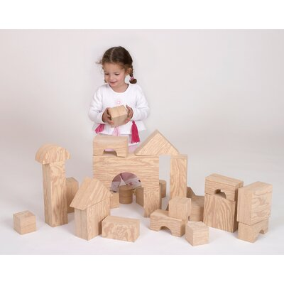 Wood-Like Giant Toy Blocks