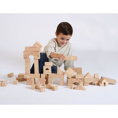 edushape Wood-Like Soft Toy Blocks