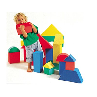 edushape Giant Blocks 16/pk 4-1/3 Thick