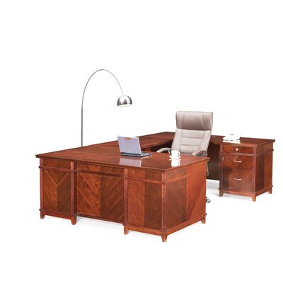 Absolute Office Cambridge U-Shaped Executive Desk with Return