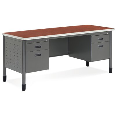 OFM Executive Series Double Pedestal Computer Desk