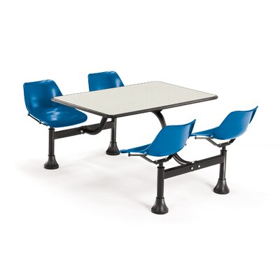 "OFM Group/Cluster Table and Chairs 71"" x 48"" Picnic Table"