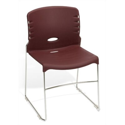 OFM Armless Stack Chair in Plastic, Fabric, or Vinyl