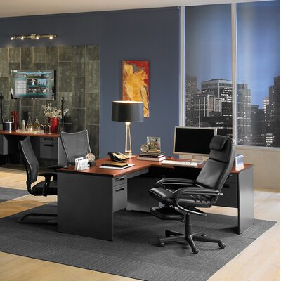 OFM Secretarial Panel End Desk