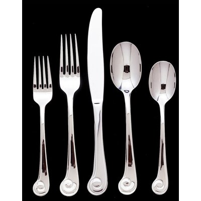 Sanibel Surf 45 Piece Flatware Set