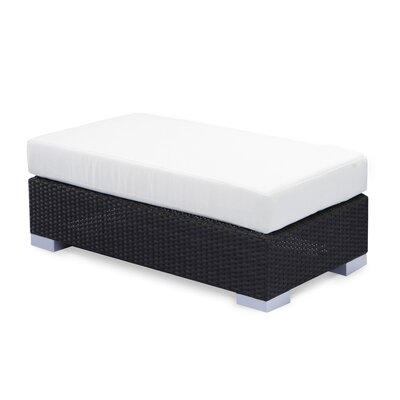 Source Outdoor King Ottoman with Cushion