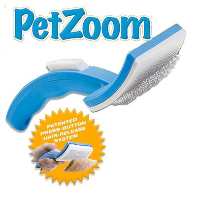 As Seen On TV by Emson Pet Zoom Grooming Brush (Set of 2)