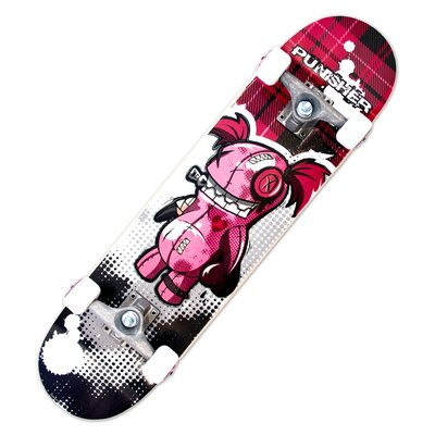 "Punisher Skateboards Voodoo Complete 31"" Skateboard"