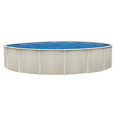 "Backyard Leisure by Wilbar Impressions 48"" Above Ground Pool Package"