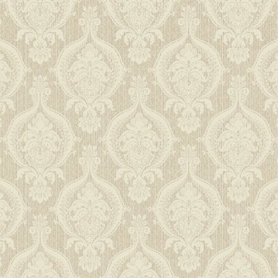 French Dressing Weave Damask Wallpaper