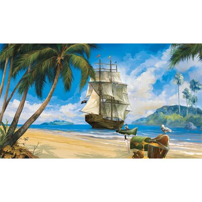 York Wallcoverings York Kids IV Pirate Full Mural