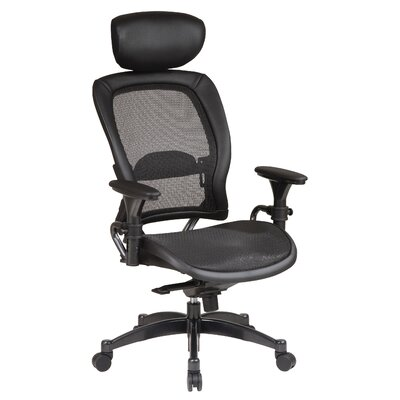 Office Star Products Matrex Back Ergonomic Office Chair with Headrest