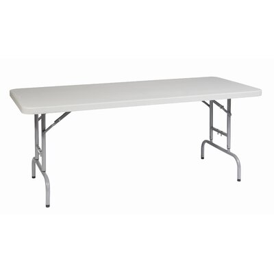 Office Star Products 6' Height Adjustable Resin Multi Purpose Table